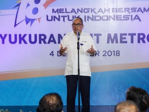 Metro TV 19 Tahun Menebar Insiprasi