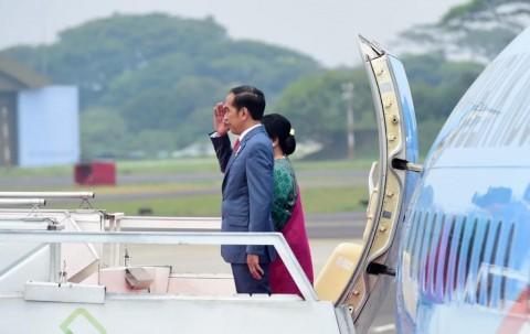 Jokowi Bertolak ke Korea Selatan