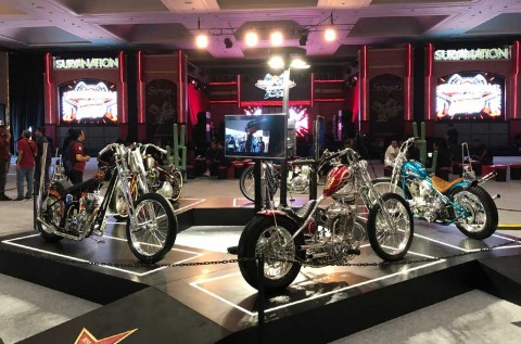 Lima Best of The Best Custom Bike ini, Adu Konsep di Sesi SML Show-off