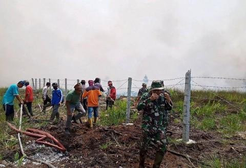 <i>Hotspot</i> Karhutla di Sumsel Sudah Hilang