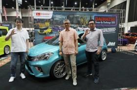 Adu Keren Mobil Daihatsu di Dressed-up Challenge