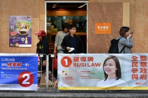 Pemilu Lokal Hong Kong Dimulai