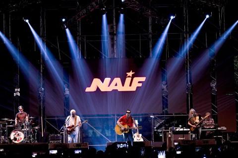 Naif Meriahkan The 90's Festival