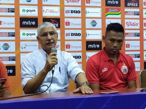 Pelatih Persija Kecam Wasit Usai Diimbangi Arema