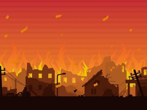 Polisi Selidiki Kebakaran 200 Rumah di Kotabaru