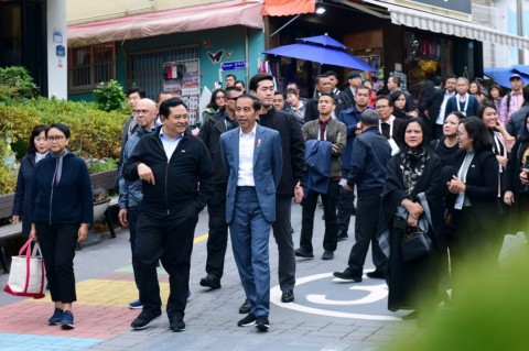 Jokowi Temui Presiden Korsel Hari Ini