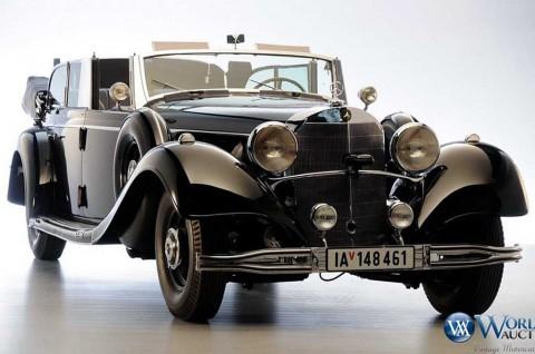 Mercedes-Benz 770 Adolf Hitler, Saksi Bisu Perang Dunia II