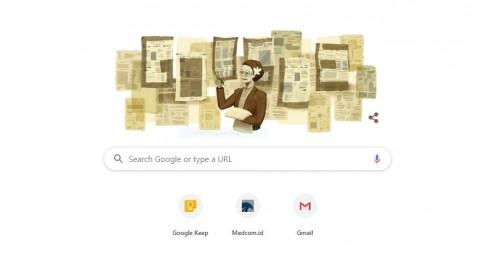 Google Doodle Tampilkan Sosok Ani Idrus, Siapa Dia?