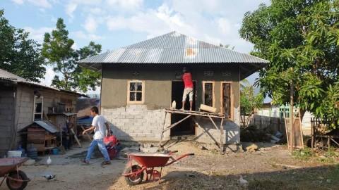 5.700 Rumah Korban Gempa di Sulteng Diperbaiki