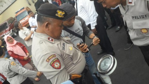 50 Polisi Gendut di Jakarta Utara Terjaring  Sidak