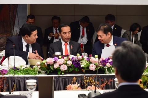 Jokowi ke Para CEO Korsel: RI akan Pangkas Regulasi & Birokrasi