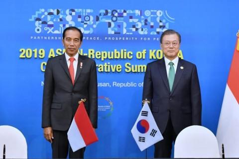 Jokowi Sambut Baik Peningkatan Kerja Sama Ekonomi RI-Korsel