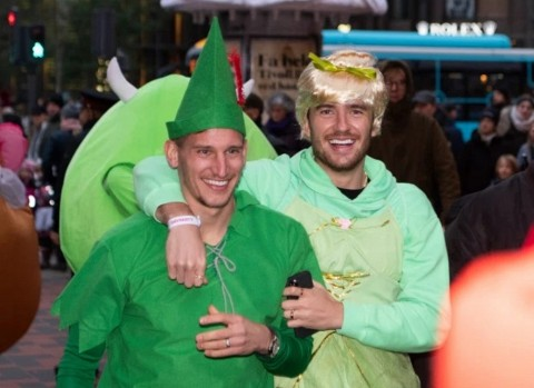 Ben Chilwell Nodai Pawai Kostum Leicester City