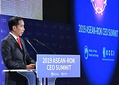 Jokowi Jadikan Indonesia Jadi Surga Investasi bagi Perusahaan Korsel