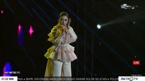 Syahrini, Via Vallen hingga Kahitna Meriahkan HUT ke-19 Metro TV