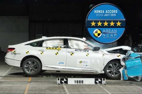 All New Honda Accord Lolos Uji Tabrak 5 Bintang dari ASEAN NCAP