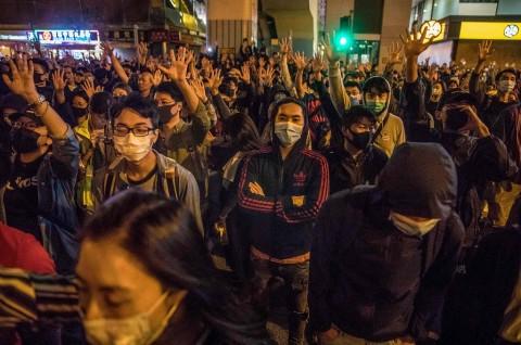 Tiongkok Panggil Dubes AS soal UU Dukungan Hong Kong