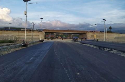 Jalan Layang Pertama di Sulawesi Tengah Rampung Tahun Depan
