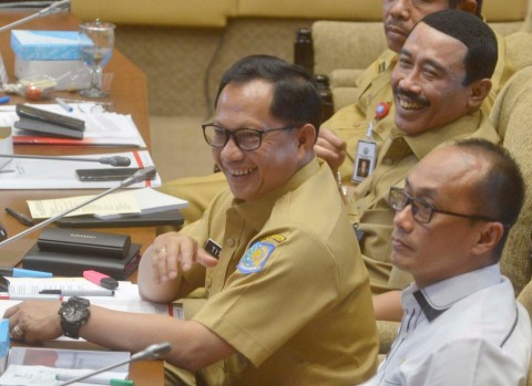 Tito Sebut Terimbas Masalah Kekurangan Blanko KTP-el