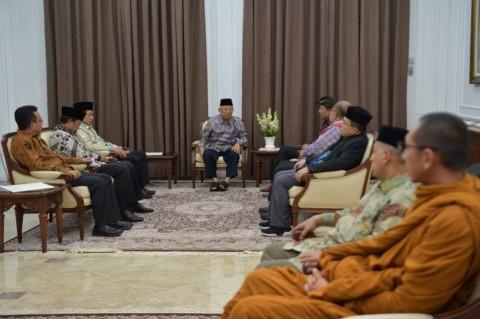 Maruf Amin Ajak Para Pemimpin Agama Jaga Persatuan Bangsa