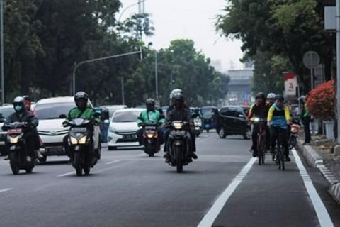 Pelanggar Jalur Sepeda Meningkat Dua Kali Lipat