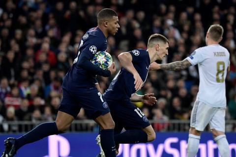 Imbangi Real Madrid, PSG Juara Grup