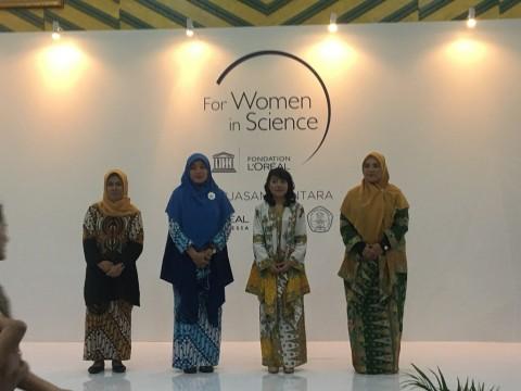 Empat Srikandi Raih Penghargaan Penelitian dari Unesco