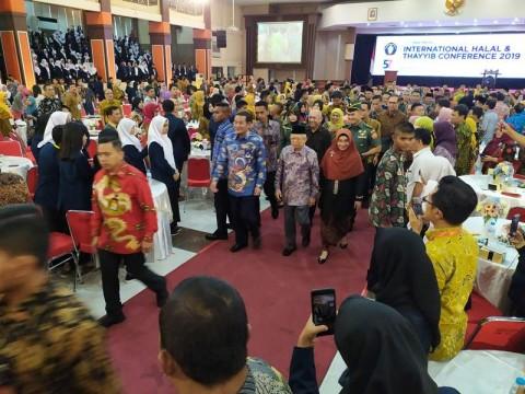 Wapres Buka Konferensi Halal dan Thayyib di Malang