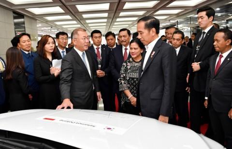 Jokowi: Pabrik Baru Hyundai Dibangun 2020