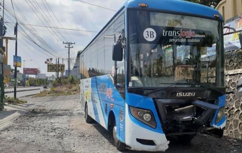 Pelajar Tewas Tertabrak Bus Trans Jogja