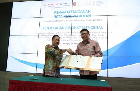 President University Teken MoU dengan KPPU