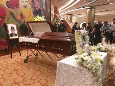 Almarhum Ciputra Disemayamkan di Jakarta