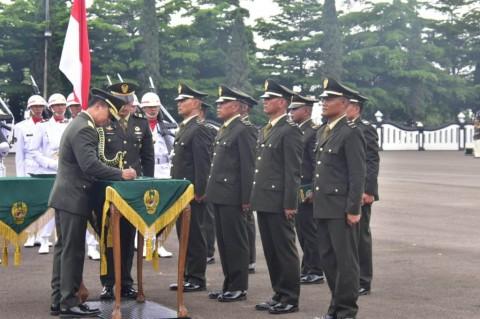 1.000 Perwira Lulusan Diktukpa TNI AD Dilantik