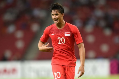Hadapi Timnas U-23, Striker Singapura Manfaatkan Tali Persahabatan