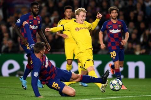 Hasil Lengkap Liga Champions Semalam: Barcelona dan Leipzig Lolos ke Babak 16-Besar