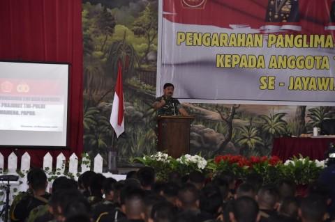 Panglima: Sinergitas, Kunci Keberhasilan Tugas TNI-Polri