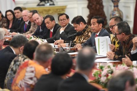 Bertemu Dewan Bisnis EU-ASEAN, Jokowi Protes Soal Diskiminasi Sawit