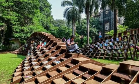 Bookworm, Perpustakaan Unik di Mumbai