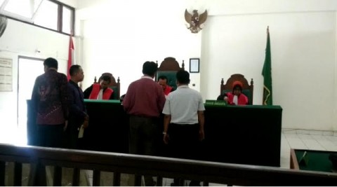 Bapak Gugat Anak Kandung di PN Palembang