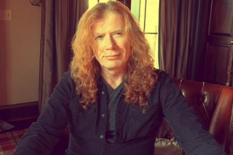 Lawan Kanker, Dave Mustaine Ungkap Dukungan James Hetfield
