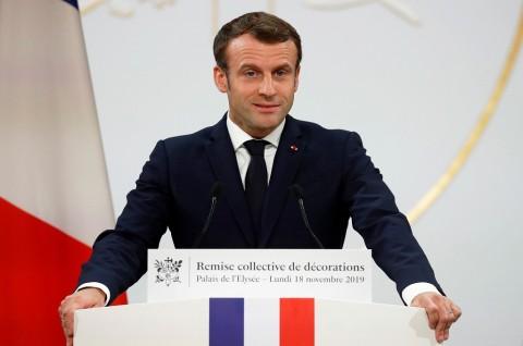Turki Tuduh Presiden Prancis Dukung Terorisme Suriah
