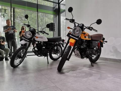 Motor Retro Kini jadi Primadona Kawasaki