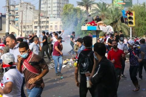 40 Warga Tewas dalam Rangkaian Protes Baru di Irak
