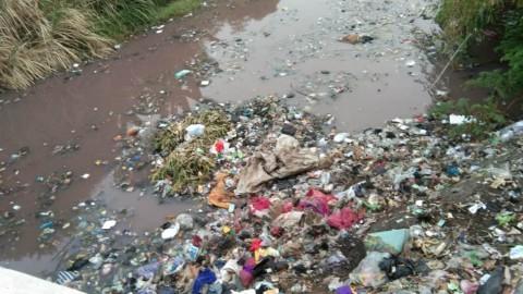 Sungai 'Pink' Diduga Akibat Limbah Pengawet Ikan