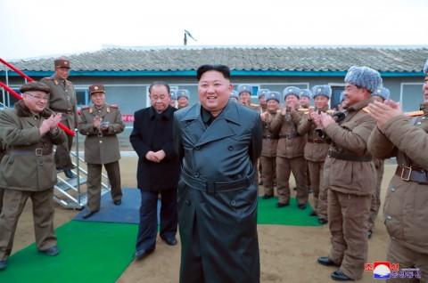 Kim Jong-un Puas dengan Peluncuran Rudal Terbaru Korut