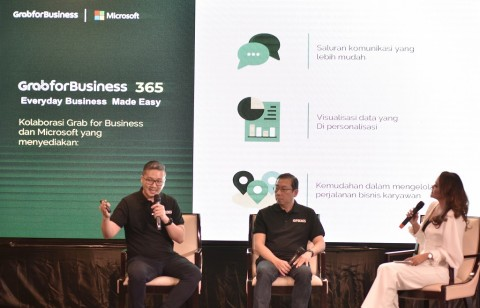 Grab dan Microsoft Kerja Sama Implementasi Grab for Business 365