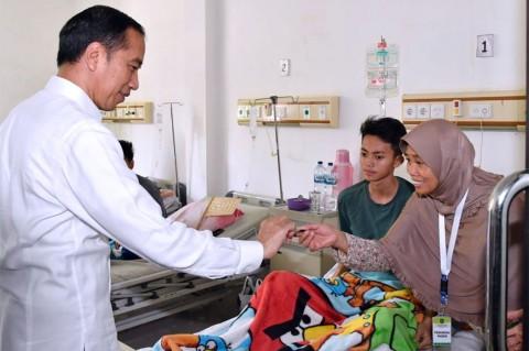 Kunjungi RSUD Subang, Jokowi Sidak Layanan BPJS Kesehatan