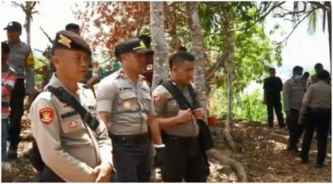 Polisi dan TNI Bersiaga di Lokasi Bentrok di Sultra