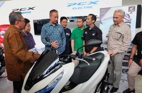Honda Boyong Tren Elektrifikasi