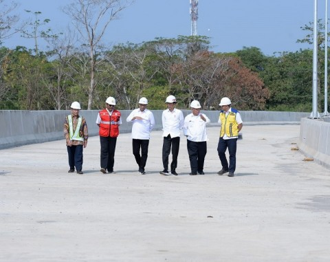 Presiden Tinjau Akses Menuju Pelabuhan Patimban